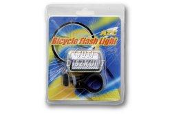 ATC kerékpár első villogó fehér 3 ledes (2xR03 - AAA), 1 db