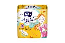 Bella For Teens eü.betét Energy (sárga), 10 db