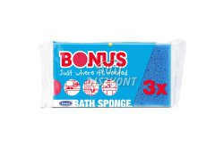 Bonus fürdőszivacs B057, 3 db