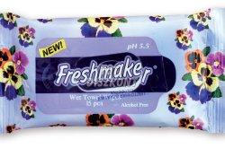 Freshmaker nedves frissítő kendő több illat, 15 db