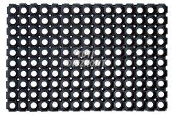 Lábtörlő erős gumi 60x40cm 1900-040, 1 db