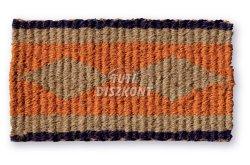 Lábtörlő Fancy hollander, kókusz 60x35cm 1900-026, 1 db