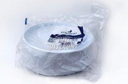 Műanyag service tányér, 100 db