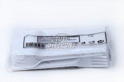 Műanyag villa, 100 db