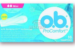 o.b. tampon Procomfort mini, 16 db