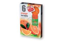 Teamécses illatos Orange X, 6 db