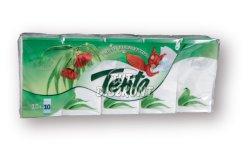 Tento papírzsebkendő 3 rétegu 10db Fresh Eucalyptus, 10 db