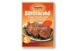 TUTI sütőzacskó steakes 35x43cm, 5 db