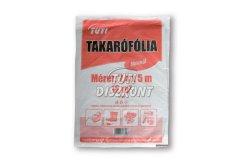 TUTI takaró fólia 12m2 normál, 1 db