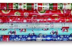 Fűzfői karácsonyi csomagolópapír 2 m x 70 cm, 1 db