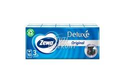 Zewa Deluxe papírzsebkendő 3 rétegű 10X10db Normál, 10 db