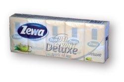 Zewa Deluxe papírzsebkendő 3 rétegű 10X10db Spirit of tea, 10 db