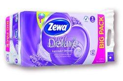 Zewa Deluxe WC papír 3 rétegű Levendula, 16 tek