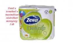 Zewa Deluxe WC papír 3 rétegű Kamilla, 4 tek