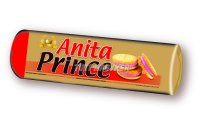 Anita Prince töltött keksz eper, 125 g