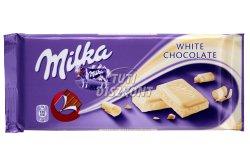 Milka táblás csokoládé Fehér csoki X, 100 g