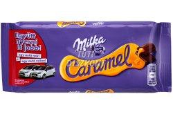 Milka táblás csokoládé Caramel X, 100 g