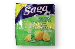 Saga teafilter zöld tea citrom, 25 db