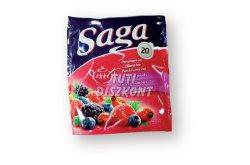 Saga teafilter erdei gyümölcs, 20 db