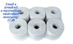 WC papír közületi 19cm 100% cellulóz 2 rétegű, 1 tek