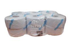 WC papír közületi mini 19cm fehér 2 rétegű 120m rec., 1 tek