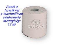 WC papír közületi mini 19cm natúr 1 rétegű 130m rec.1, 1 tek