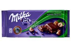 Milka táblás csokoládé Törtmogyorós X, 100 G