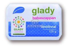 Glady babaszappan lanolinos, 125 G