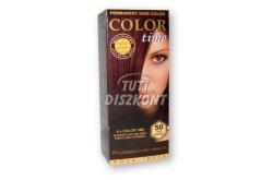 Color Time hajfesték 50-sötét mahagóni, 1 DB