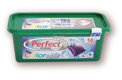 Perfect Platinum mosógél kapszula Color, 18 db