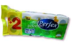 Perfex Boni WC papír 2 rétegű 8+2, 10 TEK