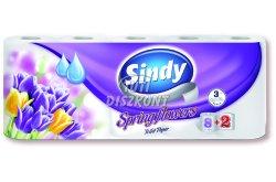 Sindy WC papír 3 rétegű Spring Flowers 8+2 tek, 10 TEK