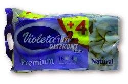 Violeta WC papír Prémium fehér 3 rét.,16tek, 16 tek