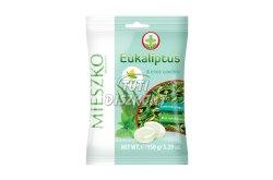 Eukaliptusz-menthol ízű keménycukorka, 150 G