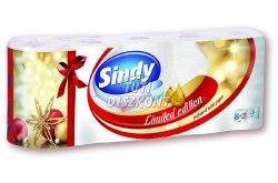 Sindy Christmas WC papír 3 rétegű 8+2 tek., 10 TEK