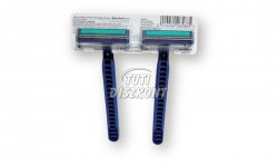 Gillette Blue II Plus eldobható borotva, 2 DB