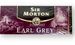 Sir Morton Earl Grey tea 20*1,5g, 30 G