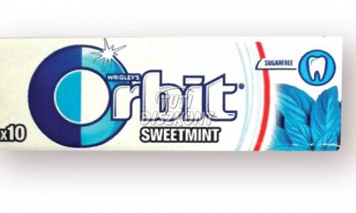 Orbit rágó Sweet Mint 10db drazsé, 1 DB