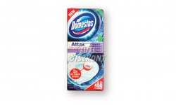 Domestos Attax öntapadós WC tisztító csík 3x10g Levendula, 30 G