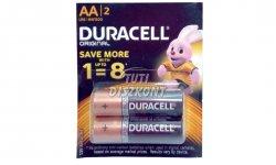 Duracell ceruza elem (AA) 2db/csomag, 2 DB
