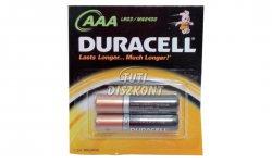 Duracell mikroceruza elem (AAA) 2db/csomag, 2 DB