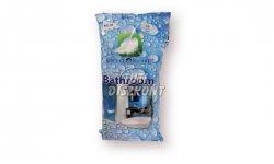 Softclean fürdőszobai Antibakt. s.kék felülettisztító kendő, 50 db