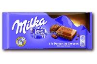 Milka táblás csokoládé Desszert X, 100 g