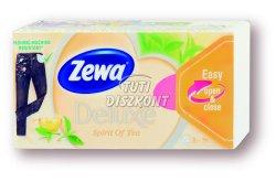 Zewa Deluxe papírzsebkendő 3 rétegű 90db Spirit of Tea, 90 db