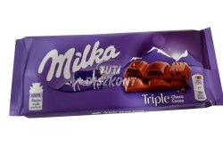 Milka táblás csokoládé Tripla Csoki X, 90 g