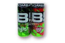 Bomba energiaital Eper-menta, 250 ml