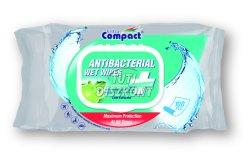 U.C. Antibakteriális nedves törlőkendő 100db, 100 DB