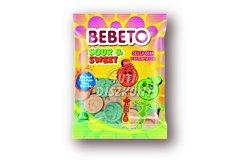 Bebeto Sour&Sweet gumicukor, 80 G