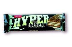 Hyper Black ostyaszelet étbevonóval, 55 G
