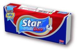 Star Duo papírzsebkendő 2 rétegű, 100 db